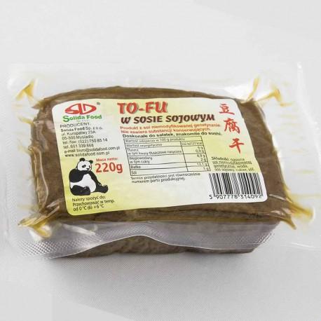 Tofu w sosie sojowym 220g