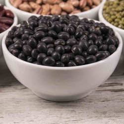 Organic Black Soy Beans (Green Inside) 400g
